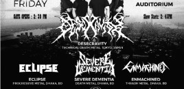 Dhaka Metal Fest to bring hell on Earth