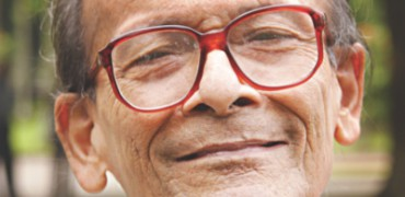 Famed Nazrul expotent Sudhin Das is no more