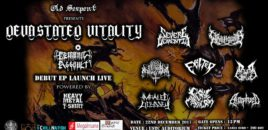Old Serpent Records presents Devastated Vitality